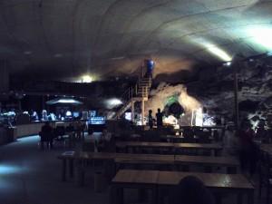 チェジュ島 洞窟カフェ