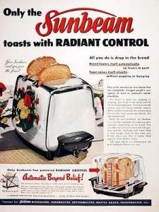 サンビームのトースター