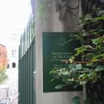 パリ・ロマン派美術館  Musee de la vie Romantique