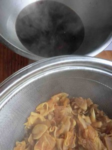 kimie,s  recipe  大根のハリハリ煮 2015-02 4