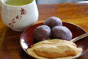 澤屋の粟餅  代用