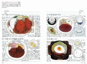 シノダ課長のごはん絵日記 2016-1 4