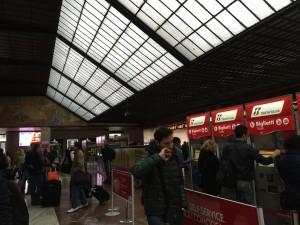 サンタ・マリア・ノッヴェラ駅からアレッツォ駅まで  2016-04 3