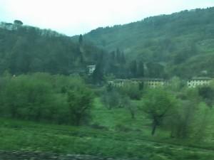 サンタ・マリア・ノッヴェラ駅からアレッツォ駅まで  2016-04 8