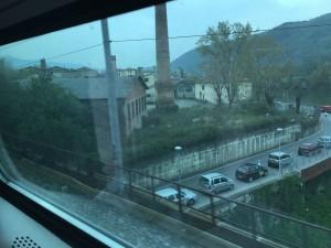 サンタ・マリア・ノッヴェラ駅からアレッツォ駅まで  2016-04 9
