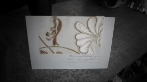 贅沢なカード